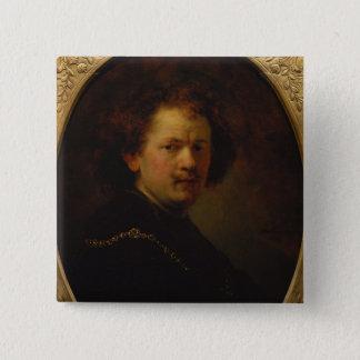 Self Portrait, 1633 Pinback Button