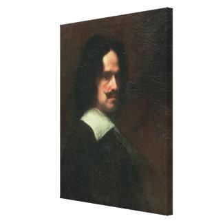 Self Portrait, 1640 (oil on canvas) Canvas Print
