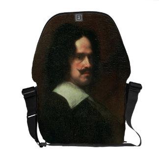 Self Portrait, 1640 (oil on canvas) Courier Bag