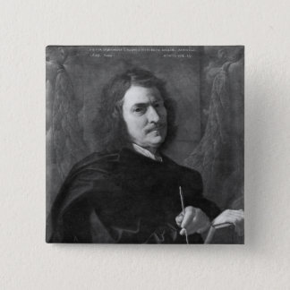 Self Portrait, 1649 Button