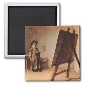 Self Portrait 1658 Magnet
