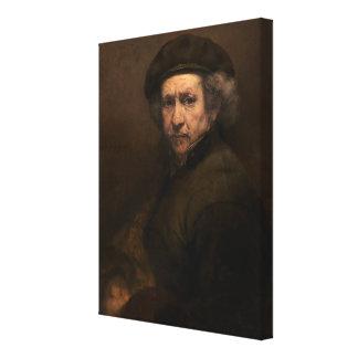 Self-Portrait, 1659 (oil on canvas) Canvas Print
