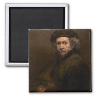 Self-Portrait, 1659 (oil on canvas) Magnet