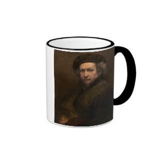 Self-Portrait, 1659 (oil on canvas) Ringer Coffee Mug