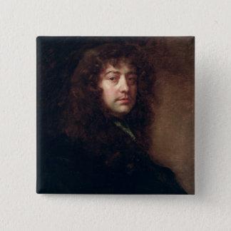Self Portrait, 1665-70 (oil on canvas) Pinback Button