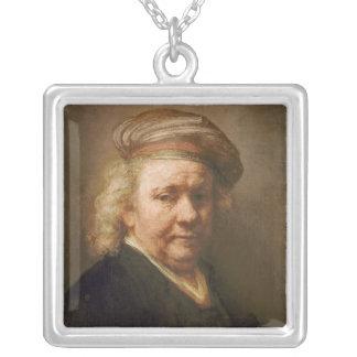 Self Portrait, 1669 Square Pendant Necklace