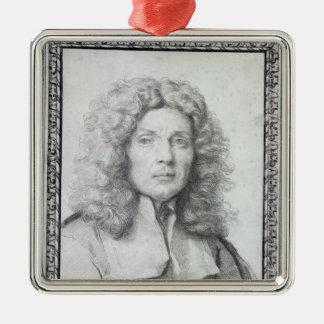 Self Portrait, 1684 Metal Ornament