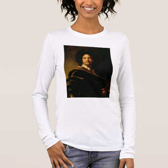 Self Portrait, 1716 (oil on canvas) Long Sleeve T-Shirt