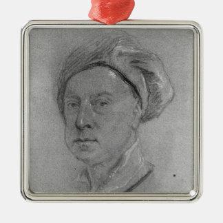 Self Portrait, 1734-35 Metal Ornament