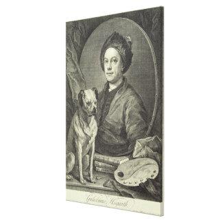 Self Portrait, 1749 Canvas Print