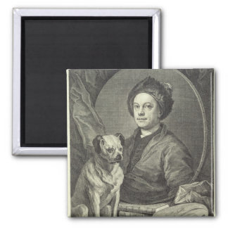 Self Portrait, 1749 Magnet