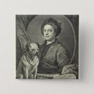 Self Portrait, 1749 Pinback Button