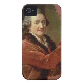 Self Portrait, 1773-87 (oil on canvas) iPhone 4 Case-Mate Case