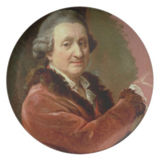 Self Portrait, 1773-87 (oil on canvas) Plate