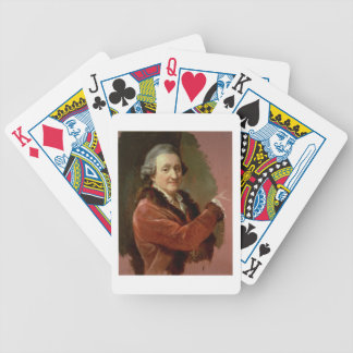 Self Portrait, 1773-87 (oil on canvas) Card Deck