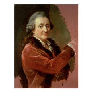 Self Portrait, 1773-87 (oil on canvas) Postcard