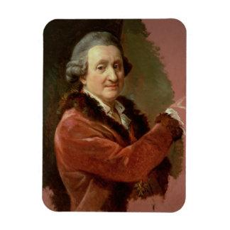 Self Portrait, 1773-87 (oil on canvas) Rectangular Photo Magnet