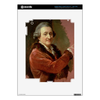 Self Portrait, 1773-87 (oil on canvas) iPad 3 Decal