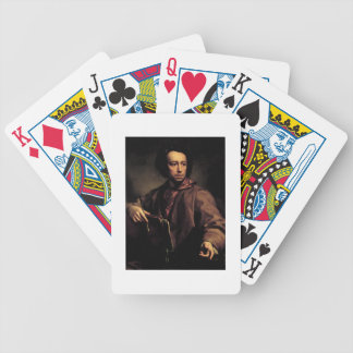Self Portrait, 1773 (oil on panel) Bicycle Playing Cards
