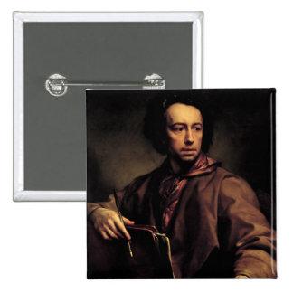 Self Portrait, 1773 (oil on panel) Button