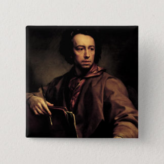 Self Portrait, 1773 (oil on panel) Pinback Button