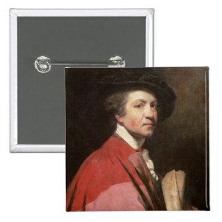 Self Portrait, 1775 2 Inch Square Button