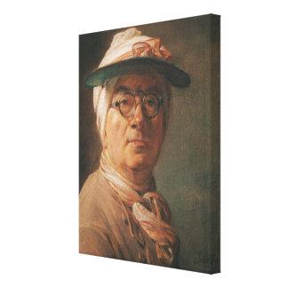 Self Portrait, 1775 Canvas Print