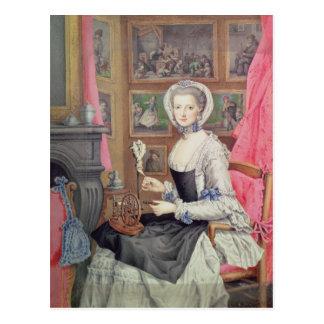 Self Portrait, 1776 Postcard