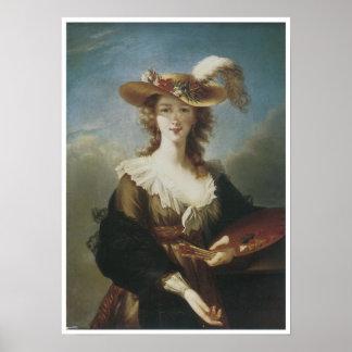 Self-Portrait, 1782 Elisabeth Vigee-Lebrun, Poster