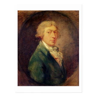 Self Portrait, 1787 (oil on canvas) 2 Postcard