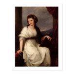 Self Portrait, 1787 (oil on canvas) Postcard