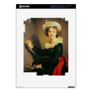 Self Portrait, 1790 (oil on canvas) Decal For iPad 3