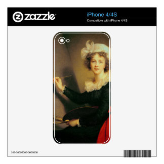 Self Portrait, 1790 (oil on canvas) iPhone 4S Decals