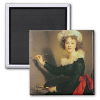 Self Portrait, 1790 (oil on canvas) Refrigerator Magnets