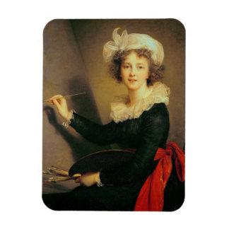 Self Portrait, 1790 (oil on canvas) Magnet