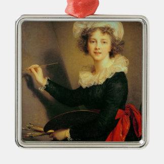 Self Portrait, 1790 (oil on canvas) Metal Ornament