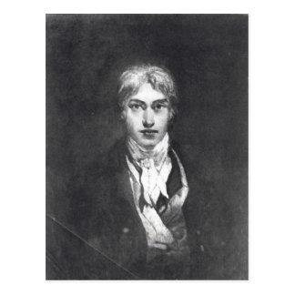 Self portrait, 1798 postcard