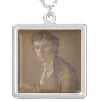 Self Portrait, 1802 Silver Plated Necklace