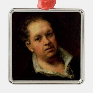 Self Portrait, 1815 Metal Ornament