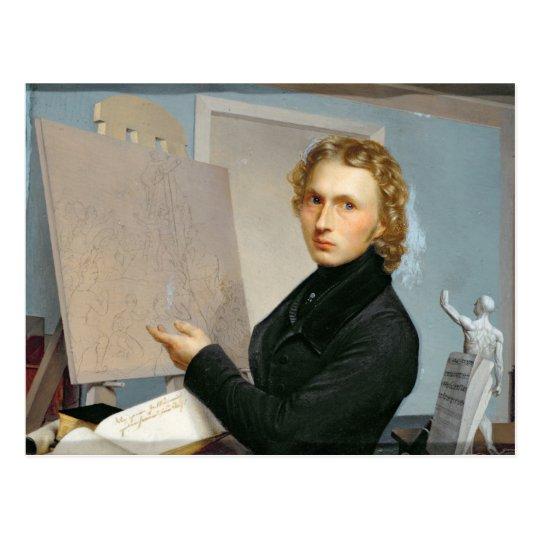 Self Portrait, 1822 Postcard