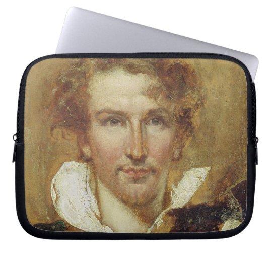 Self Portrait, 1823 (oil on paper on panel) Computer Sleeve
