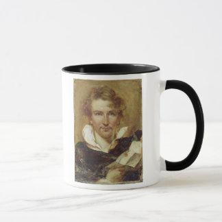 Self Portrait, 1823 (oil on paper on panel) Mug