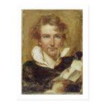 Self Portrait, 1823 (oil on paper on panel) Postcards