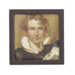 Self Portrait, 1823 (oil on paper on panel) Premium Jewelry Box