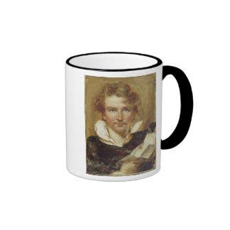 Self Portrait, 1823 (oil on paper on panel) Ringer Mug