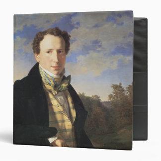 Self portrait 1828 vinyl binders