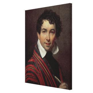 Self Portrait, 1828 Canvas Print