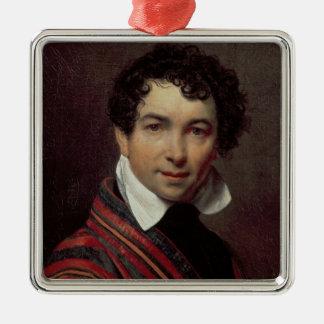 Self Portrait, 1828 Metal Ornament