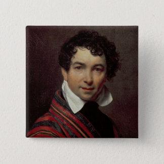 Self Portrait, 1828 Pinback Button