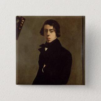 Self Portrait, 1835 Button